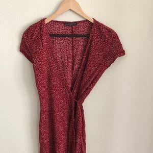 Brandy Melville wrap around dress NEVER WORN!